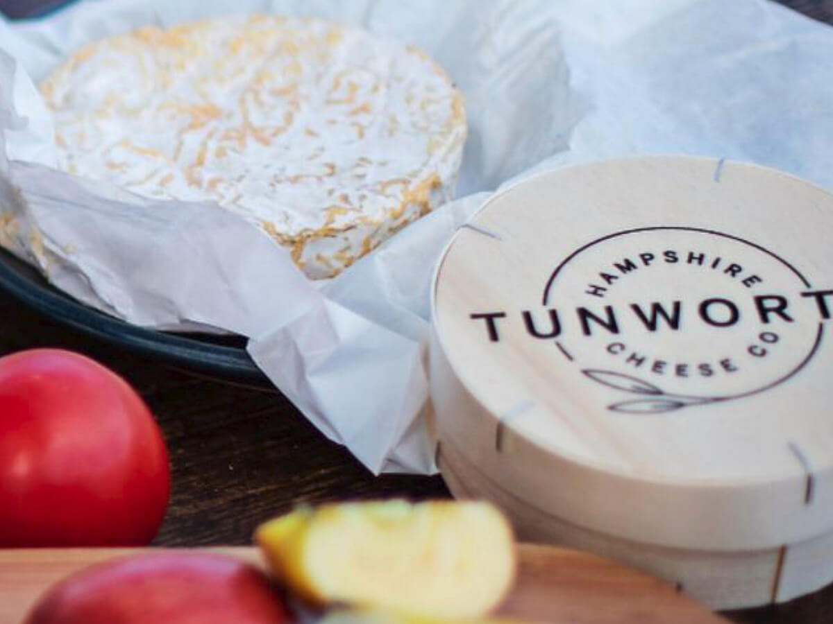 Tunworth made by the Hampshire Cheese Company