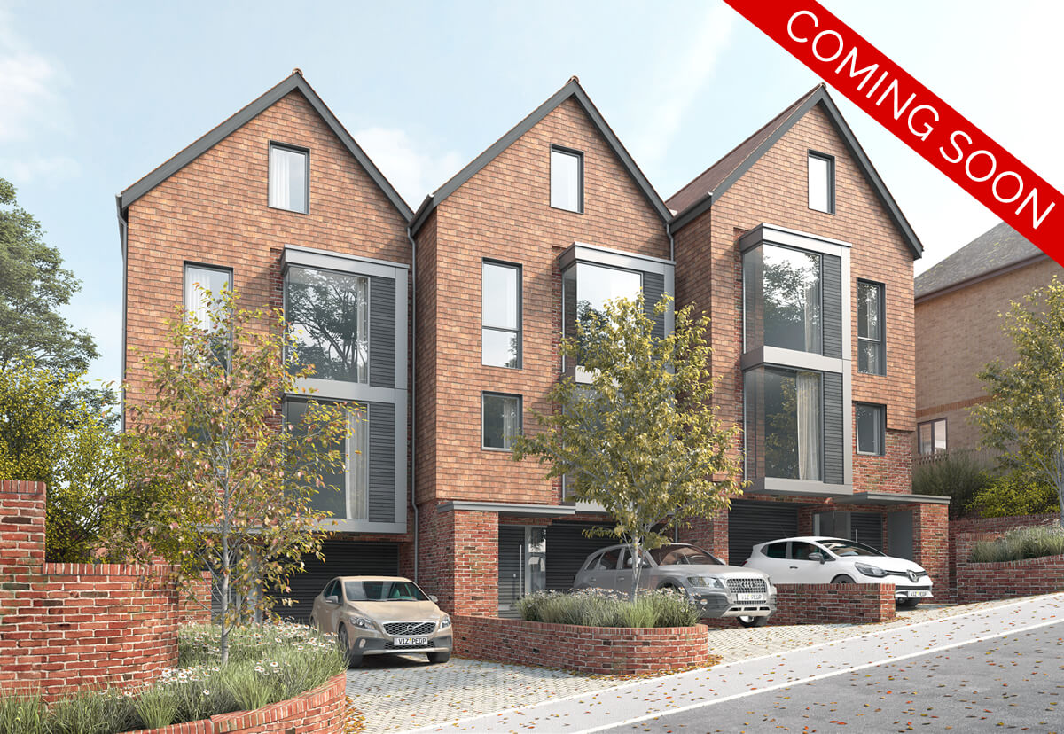 Amery Place - Coming Soon 3 Luxury Townhouses